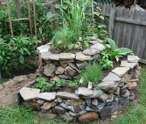 Jardin spirale